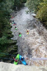 Kayaking on the Crana River